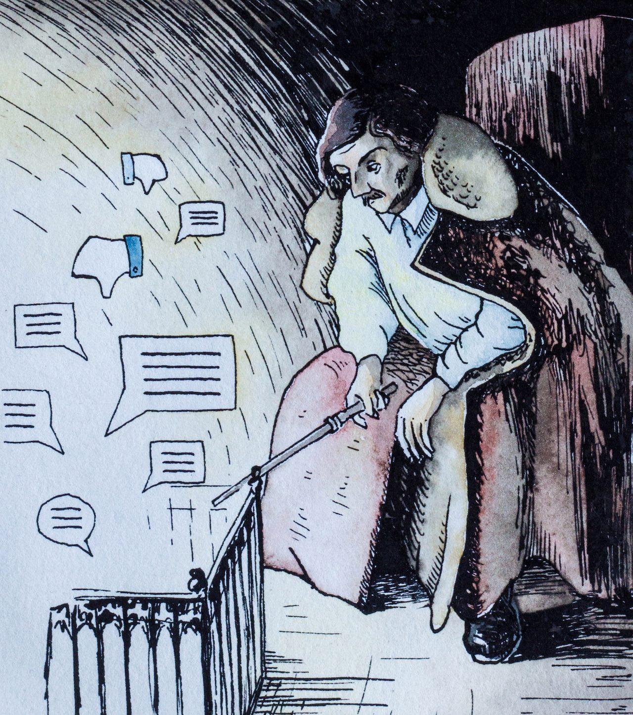 """Кеннет Голдсмит: """"Весь Интернет – это текст, согласно Барту"""""""